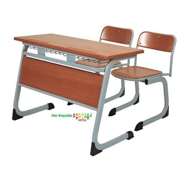 School Desk Double Person