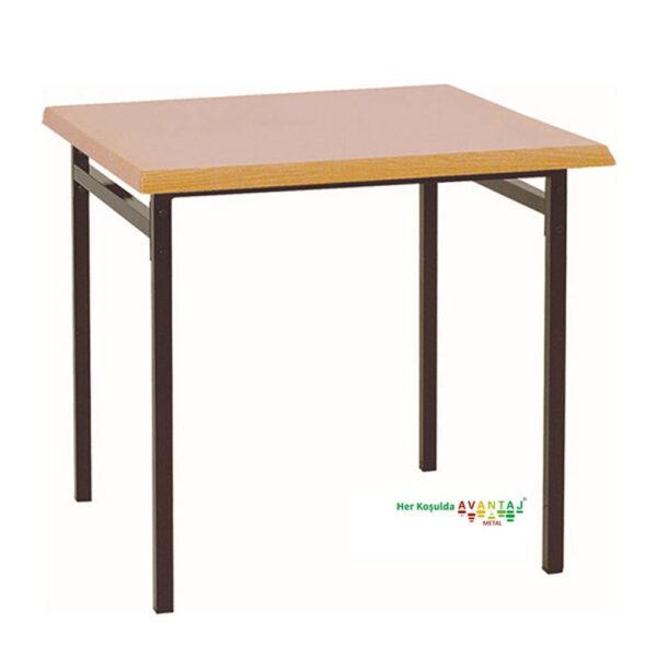 Kare Werzalit Yemek Masası 80 cm Kare klasik ve modern tasarımları ile her dekorasyon tarzına uygun! Yemek ve mutfak masası farklı renk seçenekleri ile Avantaj Metal'de.