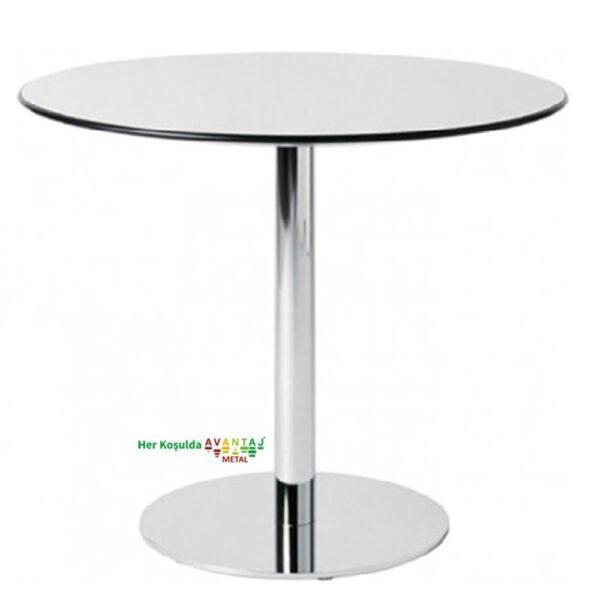 Compact Tablalı Yemek Masası Q-80 80cm Yuvarlak klasik ve modern tasarımları ile her dekorasyon tarzına uygun! Yemek ve mutfak masası farklı renk seçenekleri ile Avantaj Metal'de.