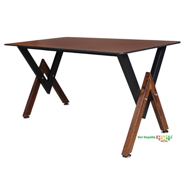 Compact Tablalı Yemek Masası 76 x 140 cm klasik ve modern tasarımları ile her dekorasyon tarzına uygun! Yemek ve mutfak masası farklı renk seçenekleri ile Avantaj Metal'de.