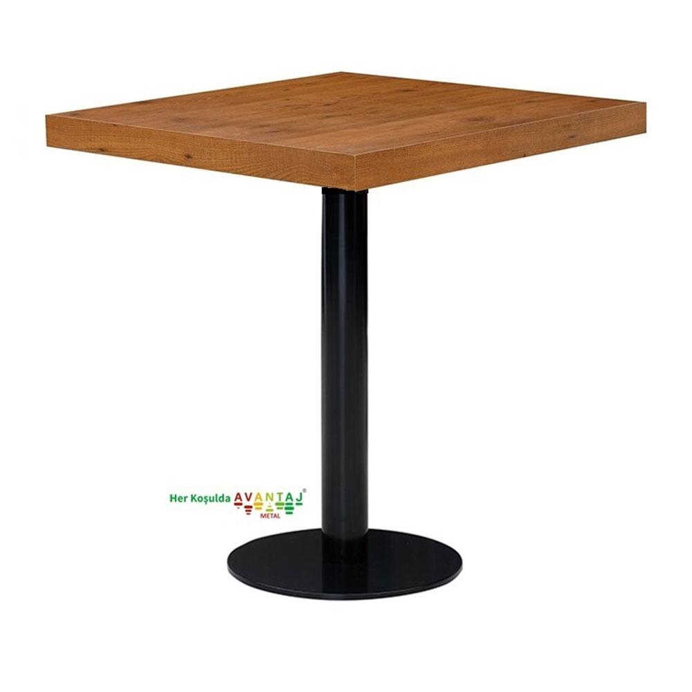 Boyalı Sütun Ayaklı Yemek Masası 80 cm Kare Model : 4 klasik ve modern tasarımları ile her dekorasyon tarzına uygun! Yemek ve mutfak masası farklı renk seçenekleri ile Avantaj Metal'de.