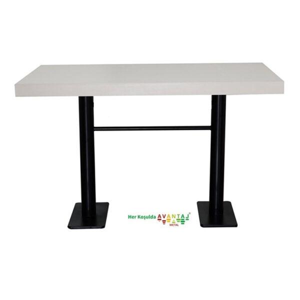 Boyalı Sütun Ayaklı Yemek Masası 80 x 138 Cm klasik ve modern tasarımları ile her dekorasyon tarzına uygun! Yemek ve mutfak masası farklı renk seçenekleri ile Avantaj Metal'de.