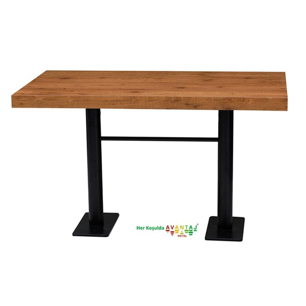 Boyalı Sütun Ayaklı Yemek Masası 80 x 138 Cm Model : 3 klasik ve modern tasarımları ile her dekorasyon tarzına uygun! Yemek ve mutfak masası farklı renk seçenekleri ile Avantaj Metal'de.