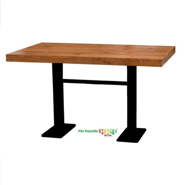 Boyalı Sütun Ayaklı Yemek Masası 80 x 138 Cm Model : 4 klasik ve modern tasarımları ile her dekorasyon tarzına uygun! Yemek ve mutfak masası farklı renk seçenekleri ile Avantaj Metal'de.
