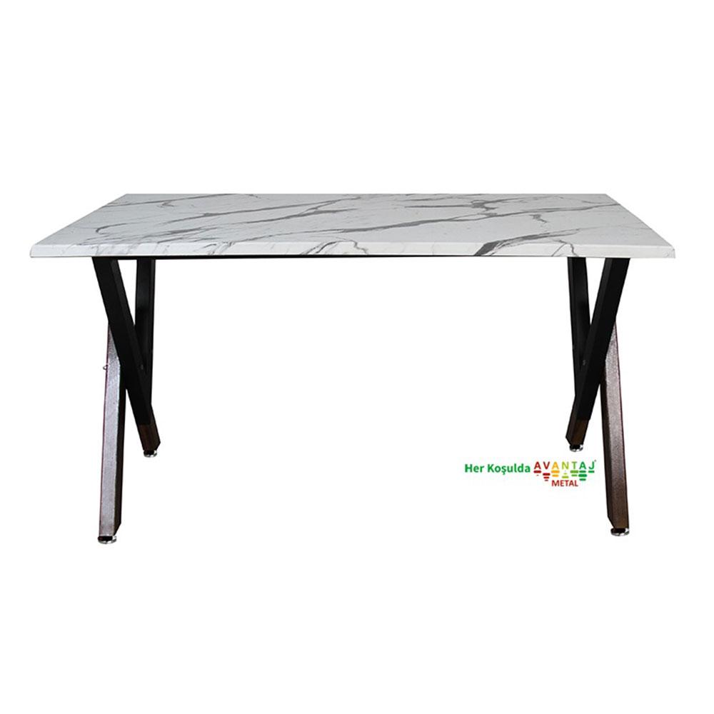 Werzalit Tablalı Yemek Masası 80 x 120 cm klasik ve modern tasarımları ile her dekorasyon tarzına uygun! Yemek ve mutfak masası farklı renk seçenekleri ile Avantaj Metal'de.