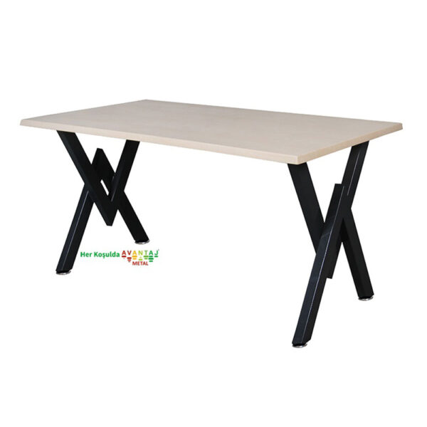 Werzalit Top Dining Table 80 x 120 cm Its classic and modern designs suit every decoration style! Dining and kitchen tables, with different color options, are in Avantaj Metal